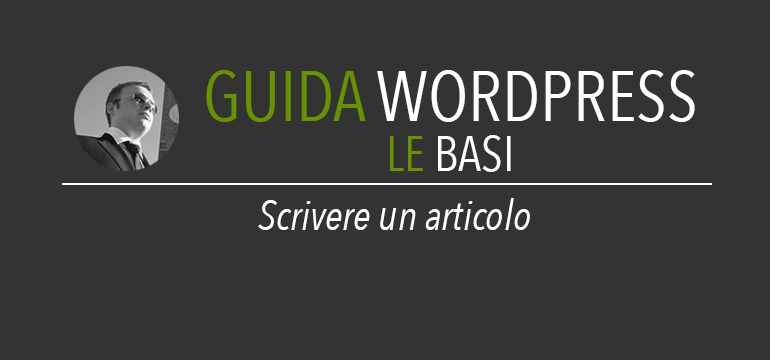 Scrivere un articolo su wordpress