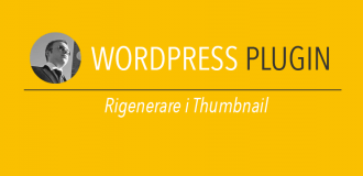 Rigenerare i thumbnail wordpress